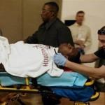 tracy-mcgrady-back-injury-stretcher